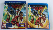 Justice League: The Flashpoint Paradox (Blu-ray, 2013, 2-Disc) w/slipcover Free