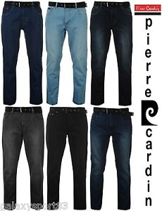 Man Jeans pierre cardin Straight Cut with Belt From 40 Choose 50