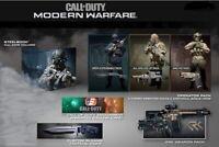 Call Of Duty Modern Warfare Steelbook Edition (Sony PS4, 2019) BRAND NEW