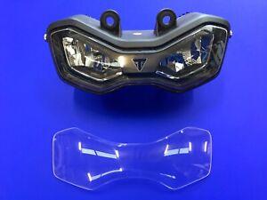 Triumph tiger 900  900 GT 2020 2021 Headlight protector 2019-2020 2021 clear
