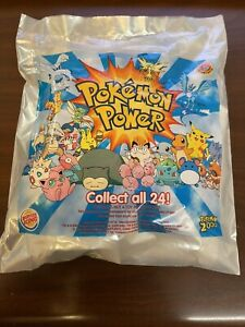 Sealed Burger King Happy Meal Toy Pokemon Power 2000 Surprise Figure