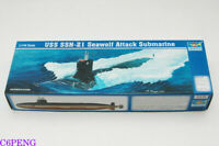 Trumpeter 05904 1/144 USS SSN-21 Sea-Wolf Submarine Hot
