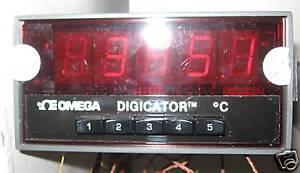 Omega 412B-K Digital Thermometer 400B series