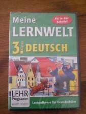 NEU!  Lernsoftware - DEUTSCH - 3 Grundschule - NEU paletti - Fit in der Schule