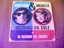 """7"""" JONATHAN & MICHELLE Occhiali da sole - Ai margini del mondo 1967"""