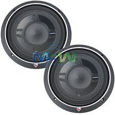 "(2) ROCKFORD FOSGATE® P3SD4-10 10"" PUNCH SHALLOW-MOUNT CAR SUBS SUB WOOFER PAIR"