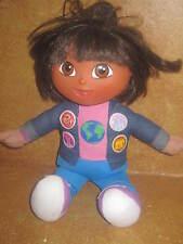 "Dora Dora The Explorer Doll 2005 13"" Fisher Price Sings All Around The World"