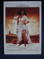 Filmplakatkarte cinema   Carmen   Francesco Rosi