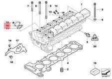 Genuine BMW E38 E39 E46 E53 E60 E61 Cylinder Head Cover Lid OEM 11121438086