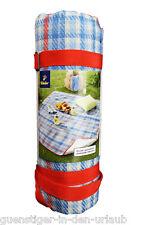 TCM Tchibo Picknickdecke Decke Picknick schmutzabweisend Fleecedecke
