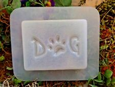 """Plastic dog mold poly plastic mould 5"""" x 3"""" x .75"""" thick"""