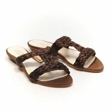 Patternless Sandals Synthetic Casual Heels for Women