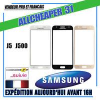 VITRE POUR ÉCRAN TACTILE SAMSUNG GALAXY J5 J500 noir blanc or