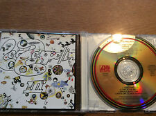 LED Zeppelin - 3 III [CD ALBUM] ORO colored CD/RAR programmazione a oggetti Barry Diament
