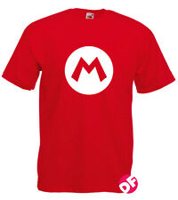 Mario Red Luigi Green T-shirt Gaming retro Super Brothers Adult and Kids New
