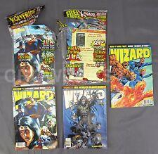 Wizard Comics Magazine #74 October 75 November 76 December 1997 JLA Fantastic 4