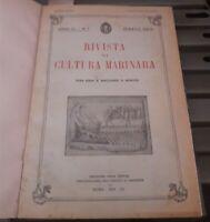 1931 - MARINERIA - RIVISTA DI CULTURA MARINARA - MISCELLANEA