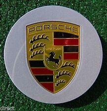 1 Perfect Original OEM Factory Genuine Porsche Color Logo Crest Wheel CENTER CAP