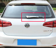 ABS Chrome Rear Window Wiper Nozzle Cover Trim For VW Golf 7 MK7 2014 2015 2016