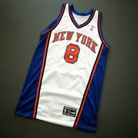 "100% Authentic Latrell Sprewell Puma 00 01 Knicks Game Issued Jersey 48+2"" Mens"