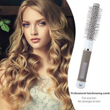 Hair Brush Nano Ceramic&Ionic Thermal Brush Round Barrel Comb Curling Brush