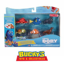 Disney Pixar Finding Dory 6 Swigglefish 3 Exclusive Figures Nemo Hank Squirt NEW