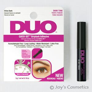 "1 DUO Quick Set Striplash Adhesive Eyelash glue "" 5g Dark Tone ""  *Joy's*"