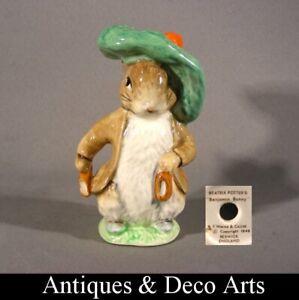 Beswick Beatrix Potter Warne & C° Ltd Benjamin Bunny Rabbit Figurine