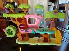 LPS Littlest Pet Shop Magic Motion Treehouse Playset Only Preowned - No Pets