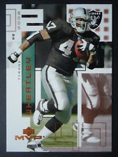 NFL 169 Tyrone Wheatley Oakland Raiders Upper Deck MVP 2002