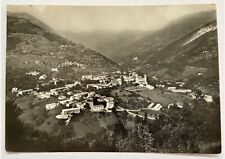 Cartolina vera foto panorama Adrara S.Martino anni '60 bianco e nero Bergamo