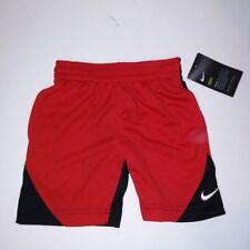 Nike Boys Shorts Red Black Size 4 XS