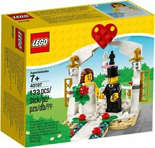 Lego: favor de boda Conjunto de 2018 - 40197 [Puente novio edades 7+ 132 piezas] NUEVO