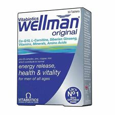 Vitabiotics Wellman Original 30 Tablets ~ FAST & FREE DELIVERY ~~ LOWEST PRICE