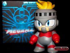"""Fire Man Mega Man CAPCOM Mini Figure 3"""" by Kidrobot - NES SNES Nintendo"""