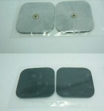 TENS Electrode replacement pads, stud fitting, self adhesive conductive gel