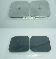 Almohadillas de reemplazo de electrodos TENS, Stud Montaje, Auto Adhesivo conductor Gel