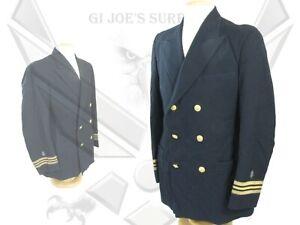 Vintage WW II USN Navy Medical Officer Lieutenant Commander O4 Uniform Jacket NC