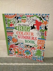 Big Colour By Numbers Book by Fiona Watt (Paperback, 2013)