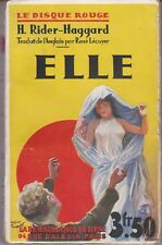 ELLE H. RIDDER HAGGARD LE DISQUE ROUGE