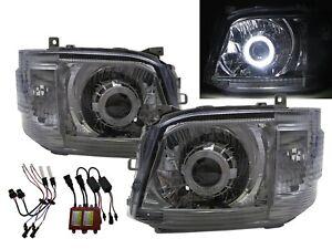 HIACE H200 MK5 2004-2010 Guide LED Angel-Eye Headlight CH for TOYOTA LHD