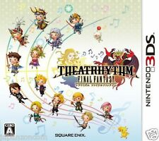 Used 3DS Theatrhythm Final Fantasy   NINTENDO 3DS JAPANESE  IMPORT