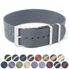 StrapsCo Twill Weaved Nylon NATO Watch Band Strap 20mm 22mm