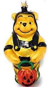 Radko Disney Winnie The Pooh Halloween Christmas Ornament Bumblebee 1997 New