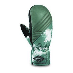 Mens Dakine Skyline Leather Ski Mittens Mitts Splatter