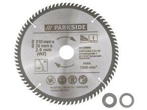 Lames pour scie circulaire 210 x 2,6 x 30 mm pour métaux non ferreux 80 dents