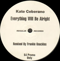 Kate Ceberano - Everything Will Be Alright - Regular - DMX - 79481 - Promo USA
