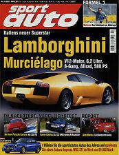 sport auto 10/01 2001 BMW M Roadster SLK 32 AMG Gemballa GTR 600 Stola S82 Spyde