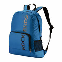 ROCKBROS Cycling Traveling Hiking Camping Outdoor Sport Bag Backpack Blue New