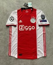 Dusan Tadic Ajax Soccer Jersey New Men's Home Player Version Jersey - Size L